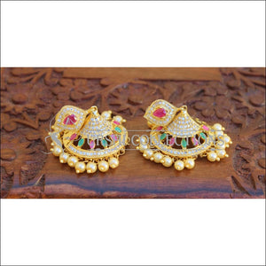 DESIGNER CZ EARRINGS UTV700 - Earrings