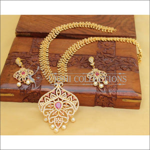DESIGNER CZ NECKLACE SET UC- NEW3104 - Necklace Set