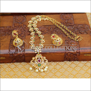 DESIGNER CZ NECKLACE SET UC-NEW3340 - Necklace Set