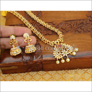 DESIGNER CZ NECKLACE SET UC-NEW3341 - Necklace Set
