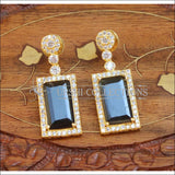 Designer Earrings Set UC-NEW670 - Blue - Earrings