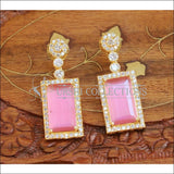 Designer Earrings Set UC-NEW670 - Pink - Earrings