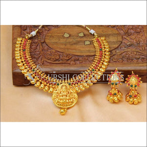 Designer Geru Polish Lakshmi Necklace Set UC-NEW2311 - Necklace Set
