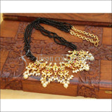 DESIGNER GOLD PLATED BEADS NECKLACE SET UC-NEW2865 - Necklace Set