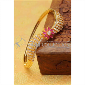 Designer Gold Plated Bracelet UC-NEW1691 - Ruby - Bracelets