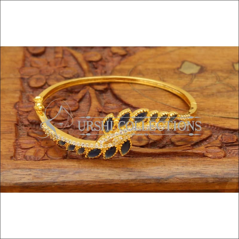 Designer Gold Plated Bracelet UC-NEW1695 - Blue - Bracelets