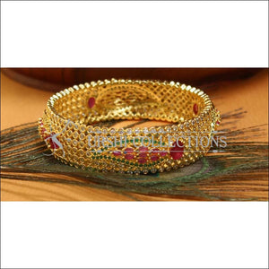 Designer Gold Plated CZ Bangle UC-NEW2548 - Bangles