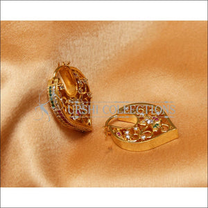 Designer Gold Plated CZ Earrings Set UC-NEW2271 - Earrings