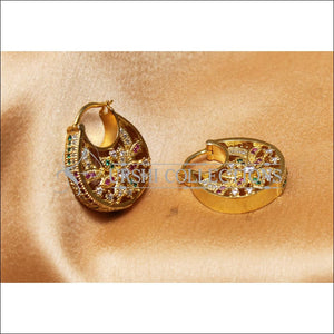 Designer Gold Plated CZ Earrings Set UC-NEW2272 - Earrings