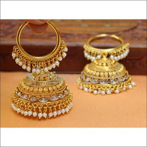 Designer Gold Plated Earrings UC-NEW2852 - Earrings