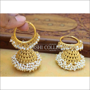 DESIGNER GOLD PLATED EARRINGS UC-NEW3066 - Earrings
