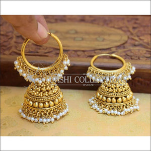 DESIGNER GOLD PLATED EARRINGS UC-NEW3067 - Earrings