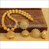 Designer Gold Plated Handmade Necklace Set UC-NEW2798 - Necklace Set