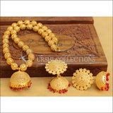 Designer Gold Plated Handmade Necklace Set UC-NEW2799 - Necklace Set
