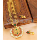 Designer Gold Plated Kempu Necklace Set UC-NEW1861 - Multi - Necklace Set