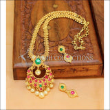 Designer Gold Plated Kempu Necklace Set UC-NEW201 - Necklace Set