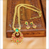 Designer Gold Plated Kempu Necklace Set UC-NEW202 - Necklace Set
