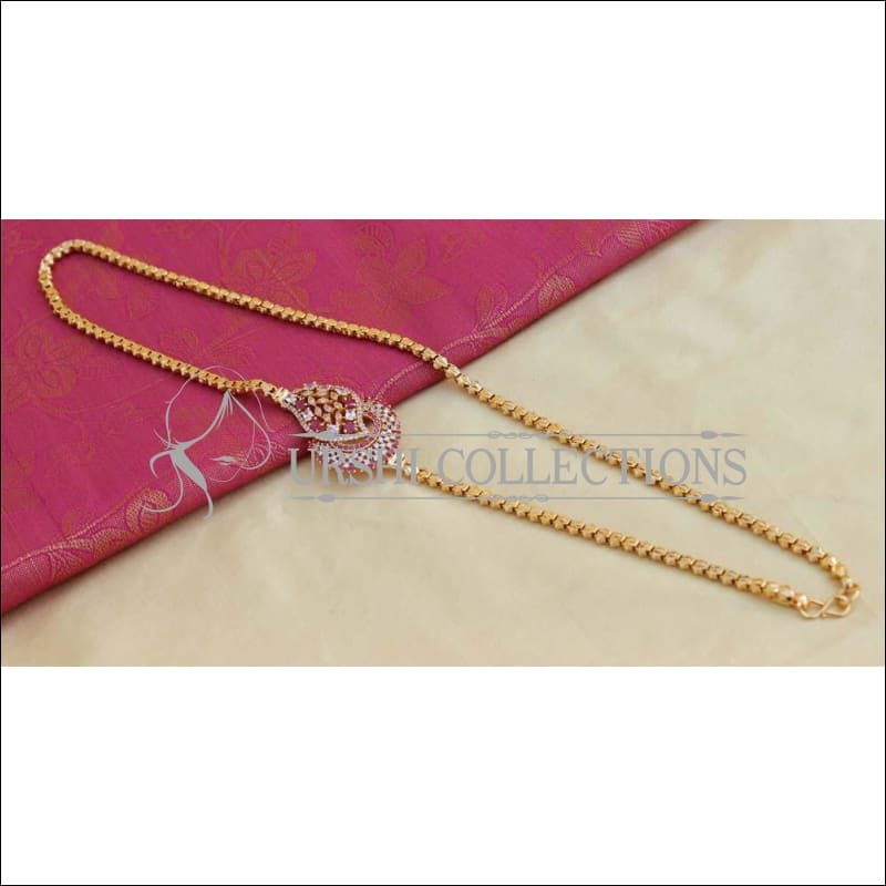 Designer Gold Plated Moppu Chain UC-NEW2316 - Moppu chain