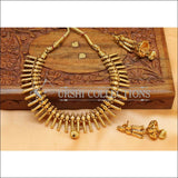 Designer Gold Plated Necklace Set UC-NEW1611 - Necklace Set