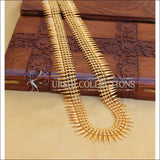 DESIGNER GOLD PLATED NECKLACE UC-NEW3148 - Necklace Set