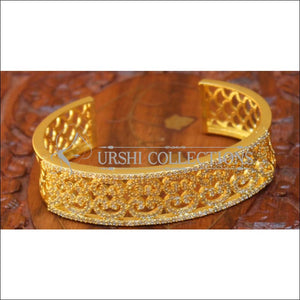 Designer Gold Plated Openable Kada UC-NEW1599 - Bracelets