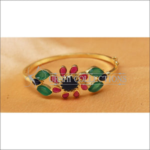 Designer Gold Plated Openable Kada UC-NEW1711 - Multi - Bracelets