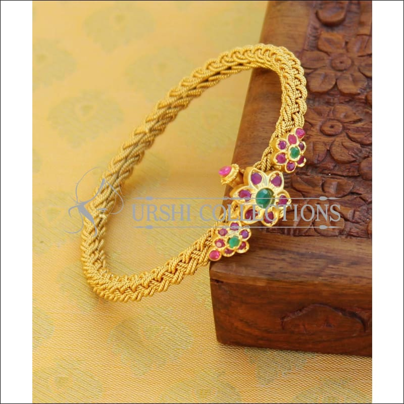 Designer Gold Plated Openable Kada UC-NEW2071 - Bracelets