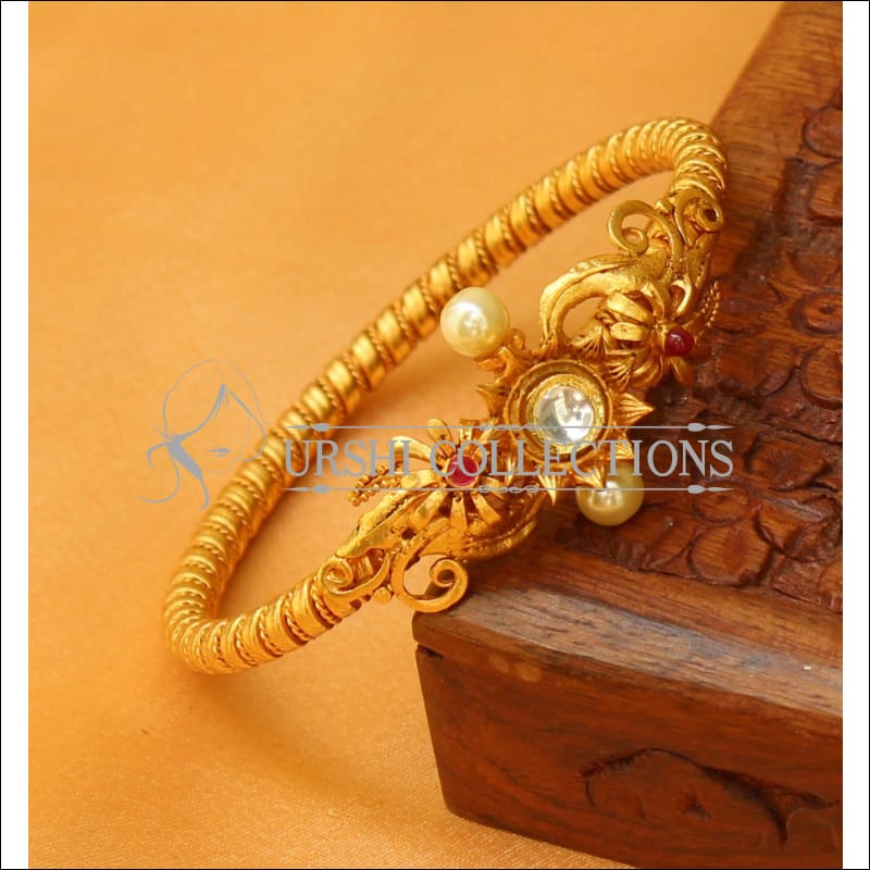 Designer Gold Plated Openable Kada UC-NEW2551 - Bracelets