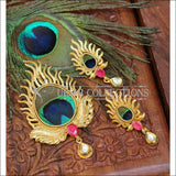 Designer Gold Plated Peacock Pendant Set UC-NEW1830 - Pendant Set