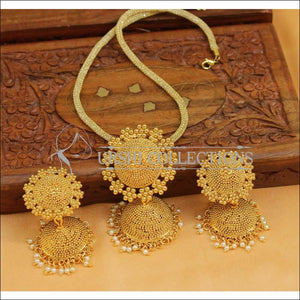 Designer Gold Plated Pendant Set UC-NEW2643 - Pendant Set