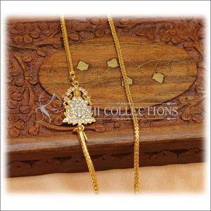 Designer Gold Plated Temple Moppu Chain UC-NEW2330 - Moppu chain