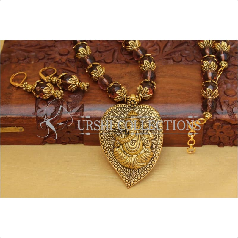 Designer Handmade Necklace Set UC-NEW2815 - Necklace Set