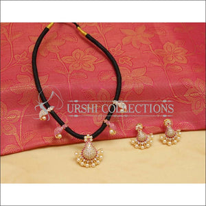 Designer Mango Black Thread Necklace Set UC-NEW993 - Necklace Set