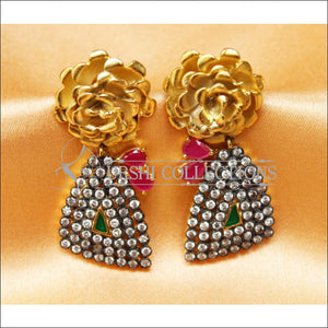 Designer Matte Finish Earrings Set UC-NEW2286 - Earrings