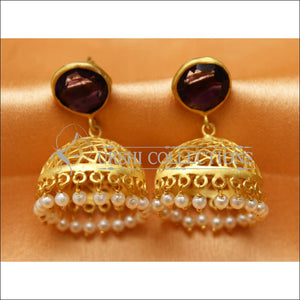 Designer Matte Finish Earrings Set UC-NEW2292 - Earrings