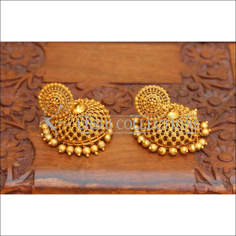 DESIGNER MATTE FINISH EARRINGS UC-NEW2836 - Earrings