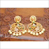 Designer Matte Finish Peacock Earrings Set UC-NEW2190 - Earrings