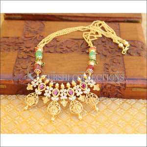 DESIGNER RAM PARIVAR PENDANT SET UC-NEW3310 - Necklace Set