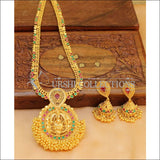 Designer Temple CZ Necklace Set UC-NEW933 - Necklace Set