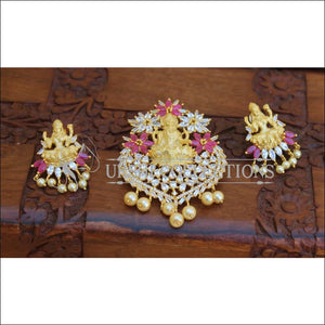 DESIGNER TEMPLE PENDANT SET UC-NEW3040 - Pendant Set