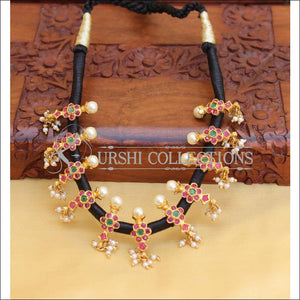 DESIGNER THREAD NECKLACE UC-NEW2992 - Necklace Set