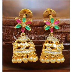 Elegant CZ Earrings Set UC-NEW1426 - Multi - Earrings