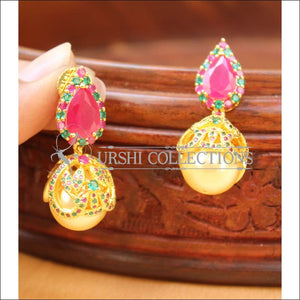 Elegant CZ Earrings Set UC-NEW1433 - Multi - Earrings