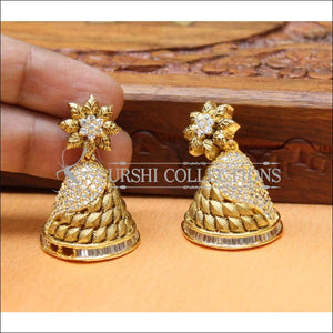 Elegant Designer CZ Earrings UC-NEW522 - Earrings