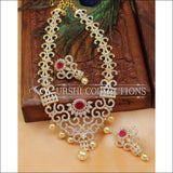 Elegant Designer CZ Necklace Set UC-NEW934 - Necklace Set