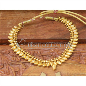 Elegant Designer Gold Plated Mango Necklace Set UC-NEW2064 - Necklace Set