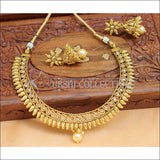 Elegant Designer Gold Plated Necklace Set UC-NEW1612 - Necklace Set