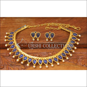 Elegant Designer Gold Plated Necklace Set UC-NEW2066 - Necklace Set