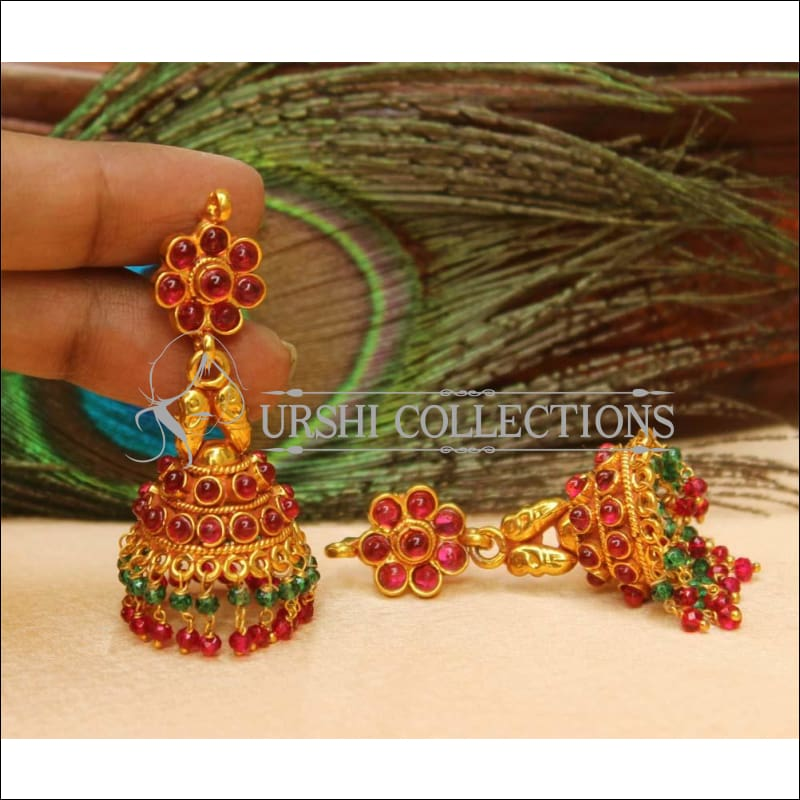 Elegant Geru Polish Earrings Set UC-NEW1121 - Multi - Earrings