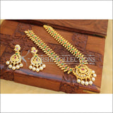 Elegant Gold Plated Mango Necklace Set UC-NEW1762 - Necklace Set